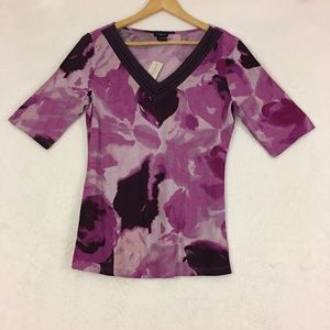 Ann Taylor V Neck Top Size Small NWT